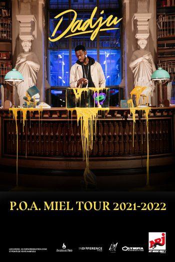Dadju visuel concert POA MIEL TOUR