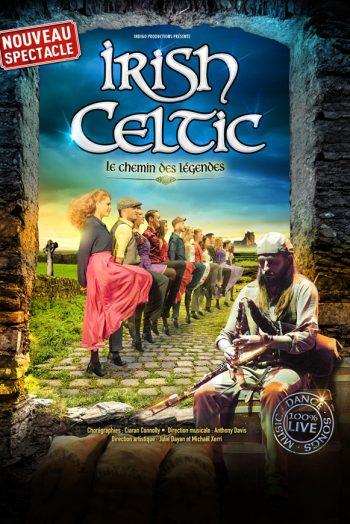 Affiche Irish Celtic concert les arènes de metz