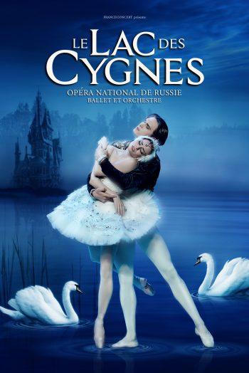 Le lac des Cygnes affiche